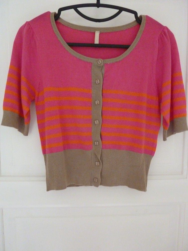 B-Young cropped cardigan