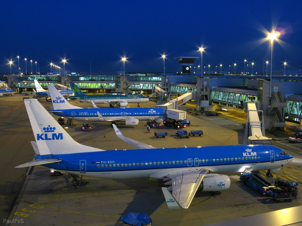 Amsterdam Amsterdam Airport Schiphol Aviation Airplane Airport