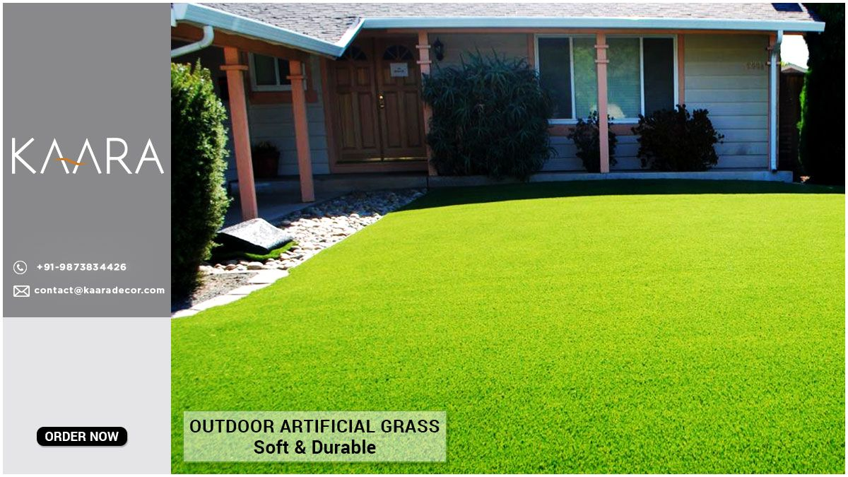 Make your gardens more greener with KAARA's eco-friendly soft artificial grass. Enjoy your outdoor space with your family. For buying/enquiries call us at +91-9873834426 OR mail us your details at contact@kaaradecor.com #kaara #kaaradecor #artificialgrass #landscape #grass #syntheticturf #landscapedesign #backyard #syntheticgrass #landscaping #garden #lawn #alwaysgreen #lawnreplacement #artificialturf #homeimprovement #backyardgreens #homedecor