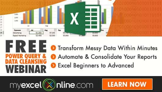 Free Excel Webinar Training Power Query Learning Pinterest