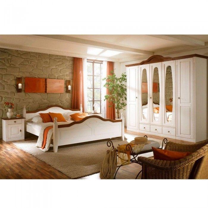 Schlafzimmer Landhausstil Weiss Landhaus Schlafzimmer