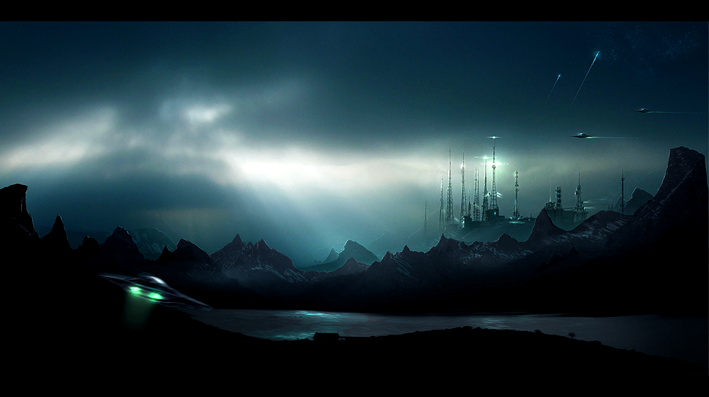 Scifi Landscape By SimonWeaner On DeviantART