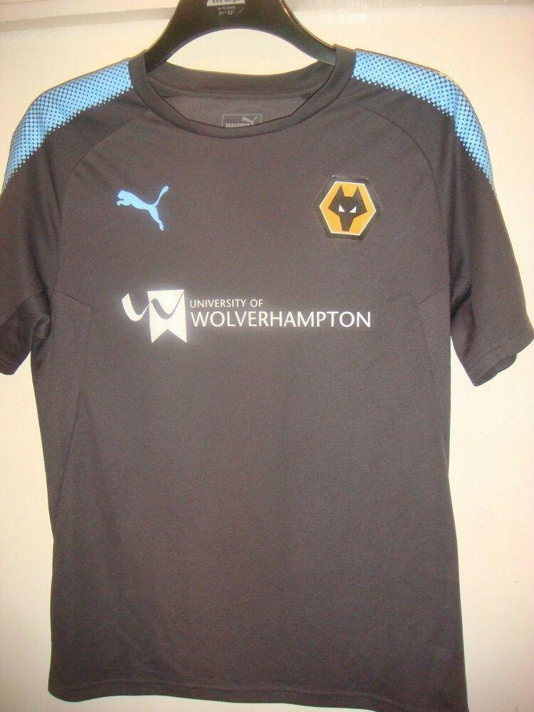 Wolverhampton Wanderers Wolves Football Training Shirt Puma