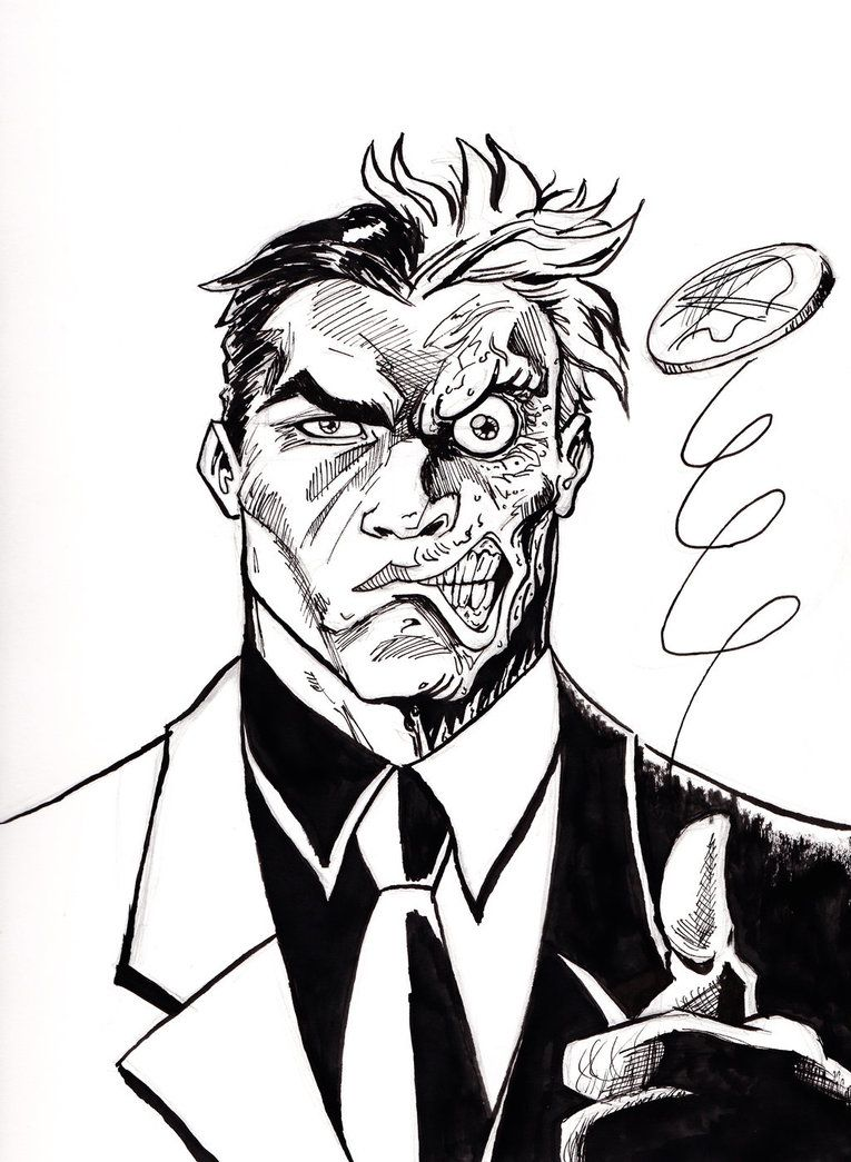 I believe in Harvey Dent by Justin Oden