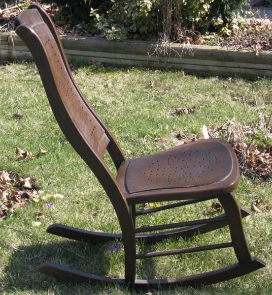 VICTORIAN ERA ROCKER NURSING CHAIR antique appraisal | InstAppraisal - VICTORIAN ERA ROCKER NURSING CHAIR Antique Appraisal InstAppraisal