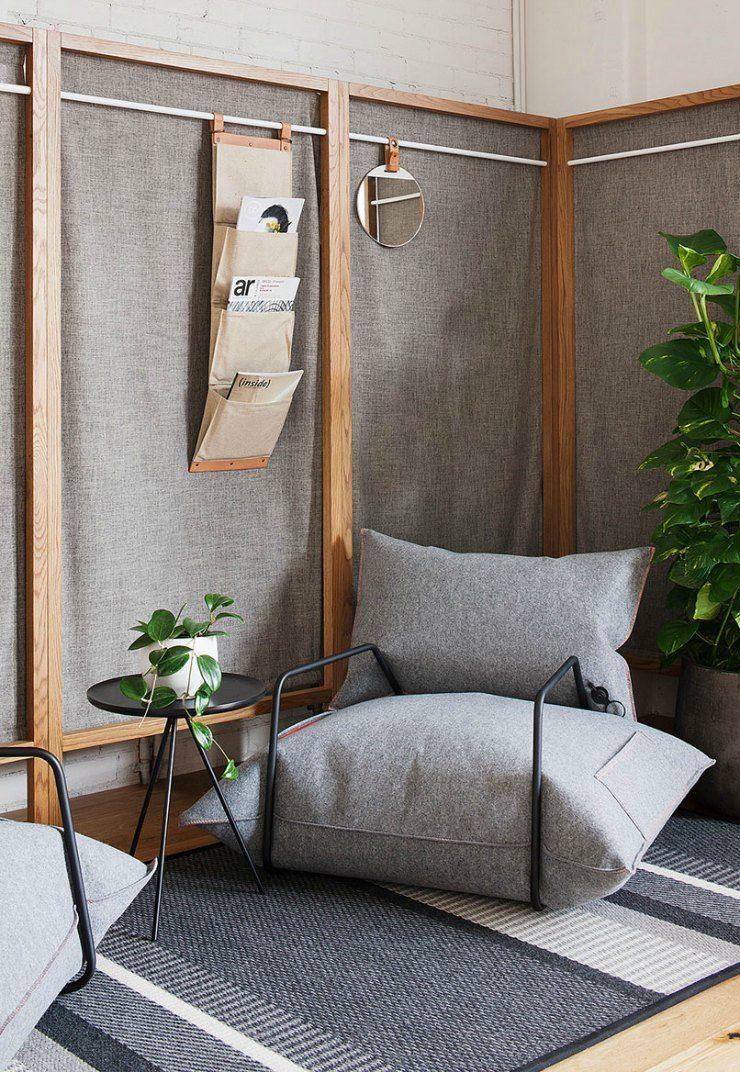 Decoración de un espacio relax, zona chill-out en casa, sillones ...