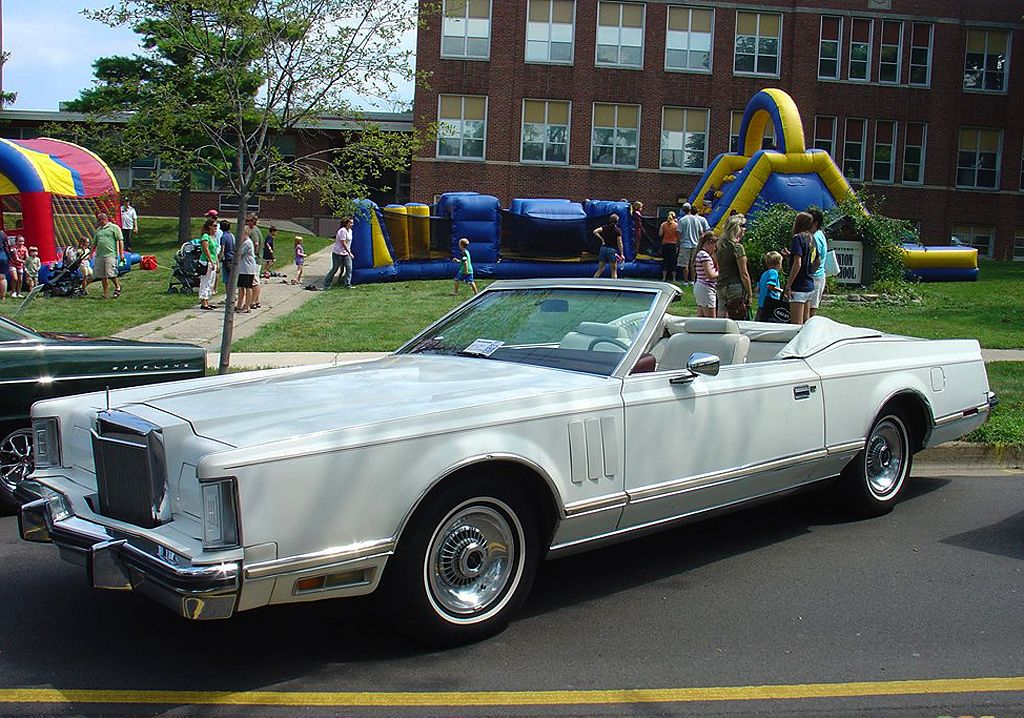 1978 lincoln convertible 70s big boat luxury cars pinterest convertible and cars. Black Bedroom Furniture Sets. Home Design Ideas