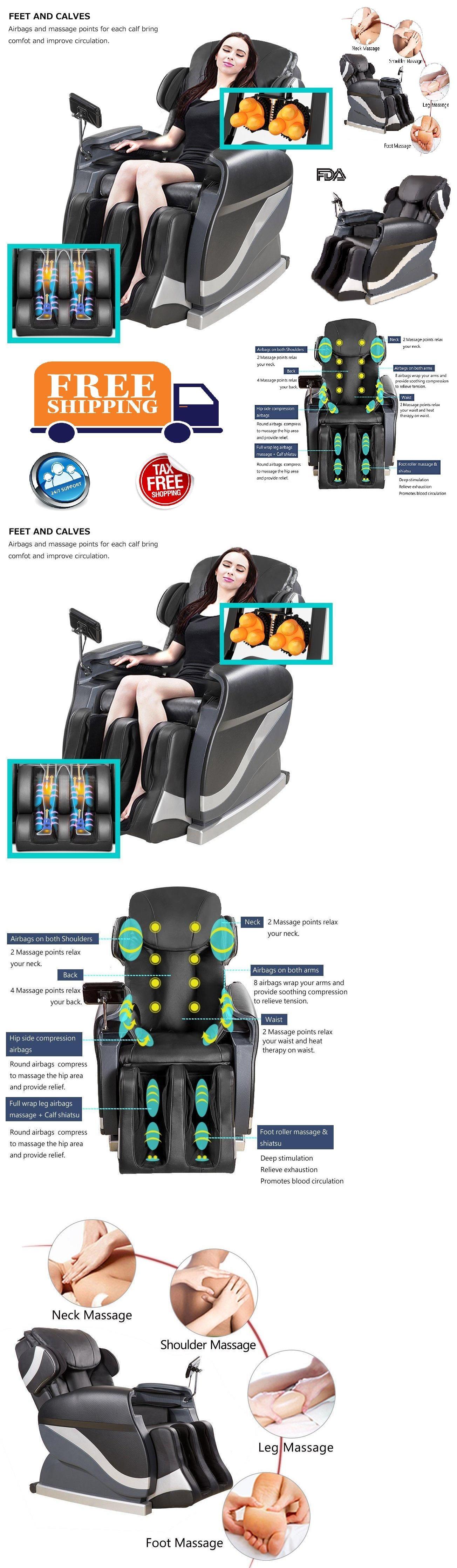 Electric Massage Chairs Electric Full Body Shiatsu Massage Chair