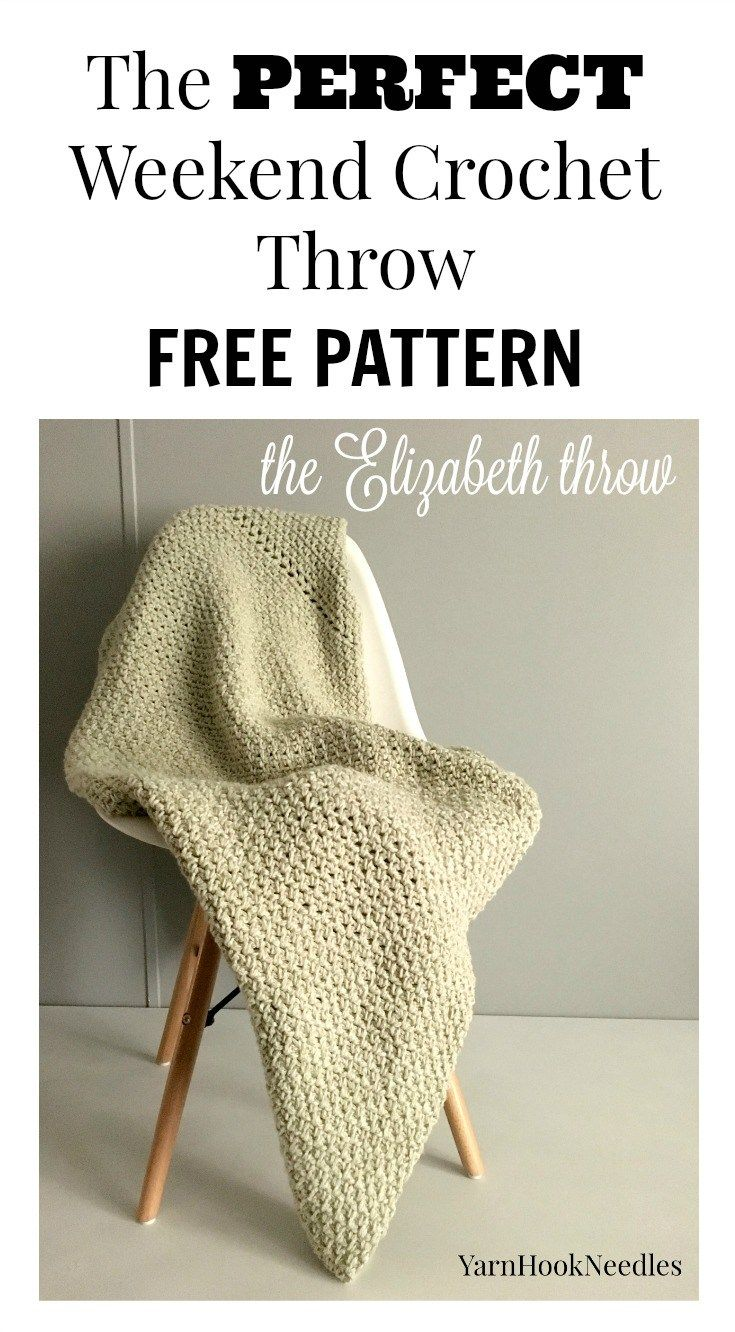If you\'re looking for a quick and easy crochet throw project for the ...