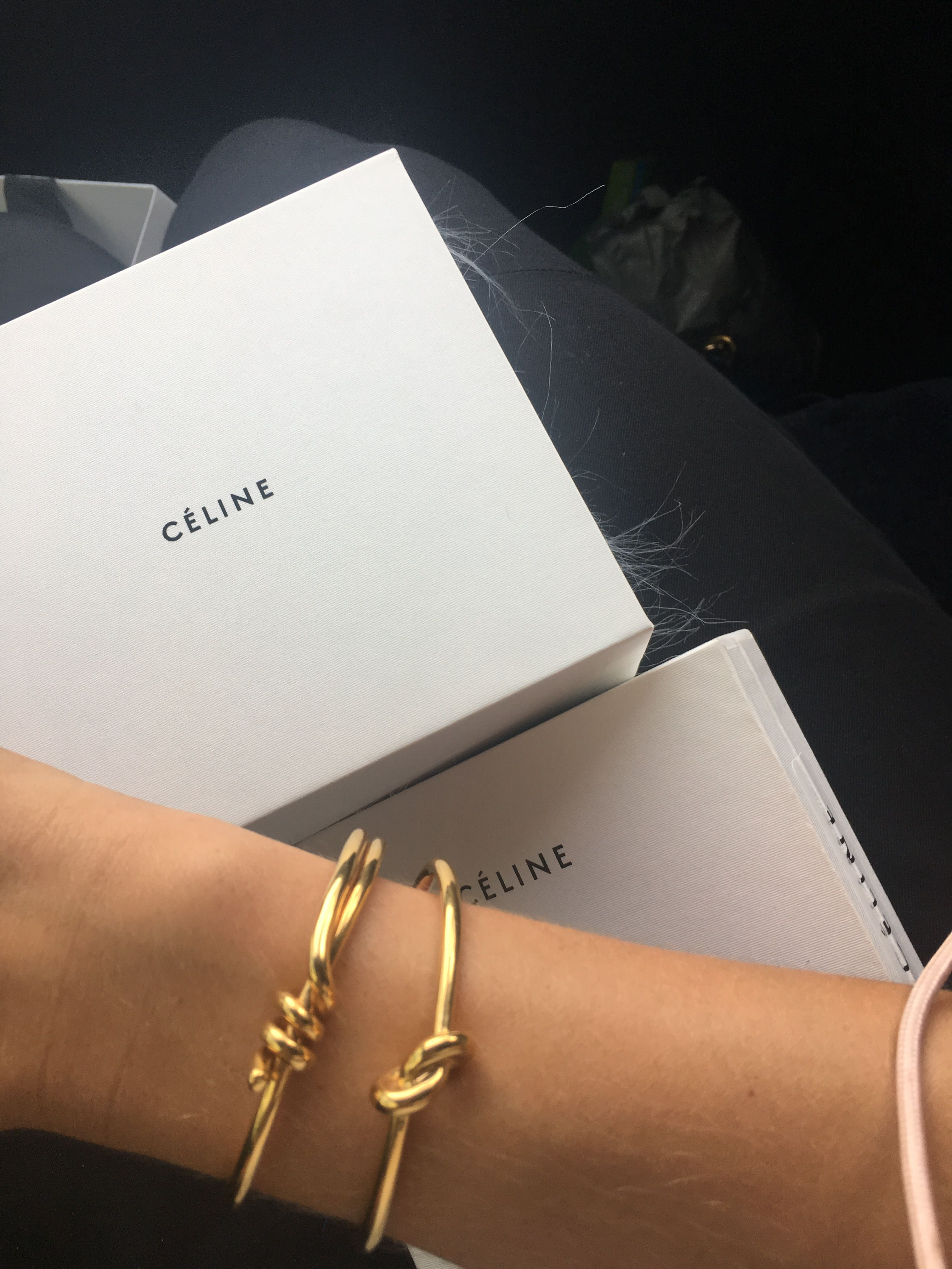 Celine Knot Bracelet With Images Gold Knot Bracelet Celine
