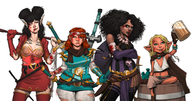 Sass & Sorcery! The Rat Queens, Putting the Fun (& the F.U.) Back Into Comics! By Kurtis J. Wiebe and Roc Upchurch. All rights reserved.