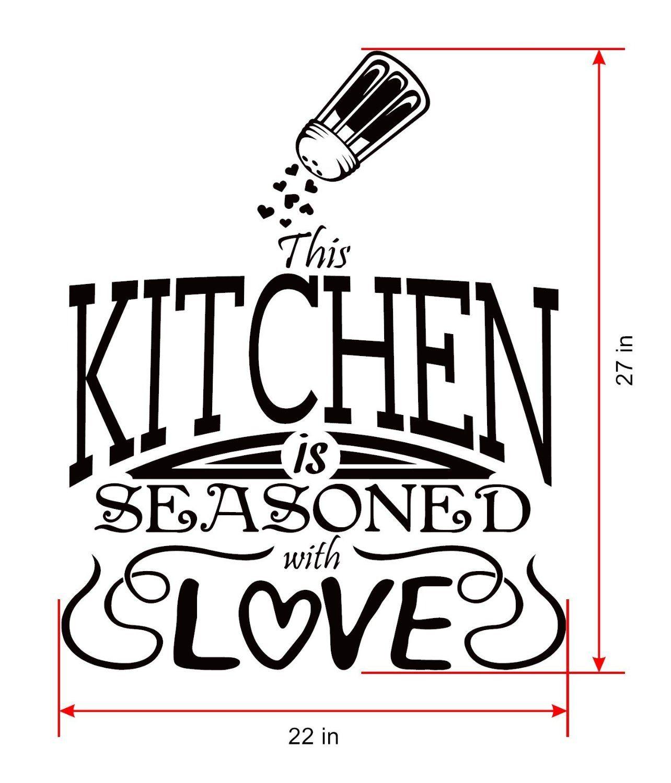 Amazon kitchen decals for wallkitchen wall decorkitchen wall