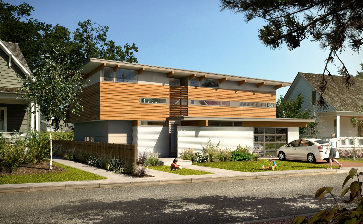 Td3 2270 - Turkel Design Prefab Homes Lindal Cedar
