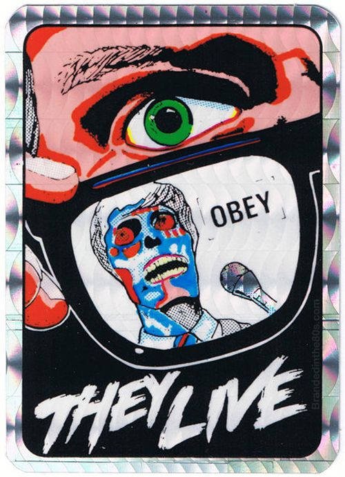 They live vending machine prism sticker
