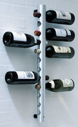 Wine rack iron design botelleros y cavas estantes de - Botelleros para bar ...