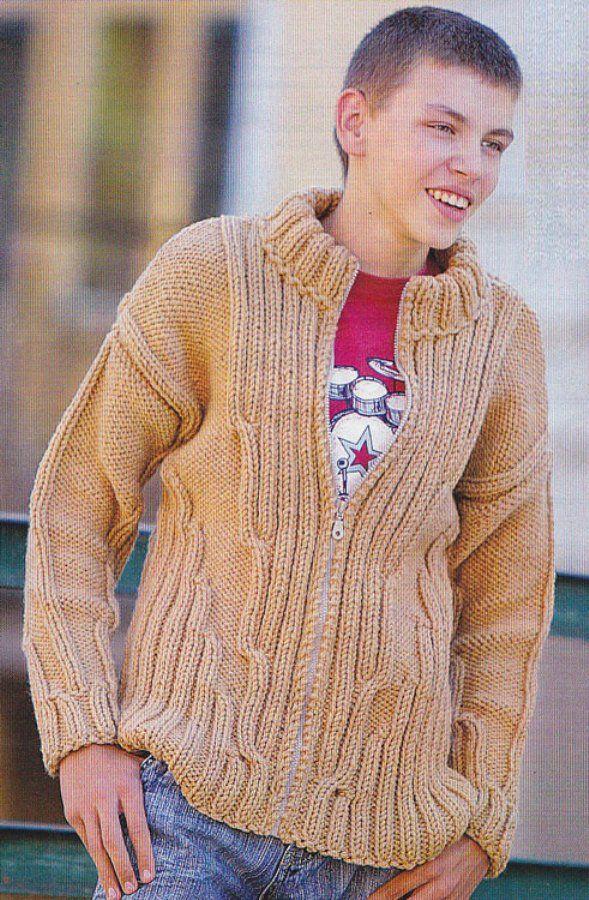 связать оригинальный свитер