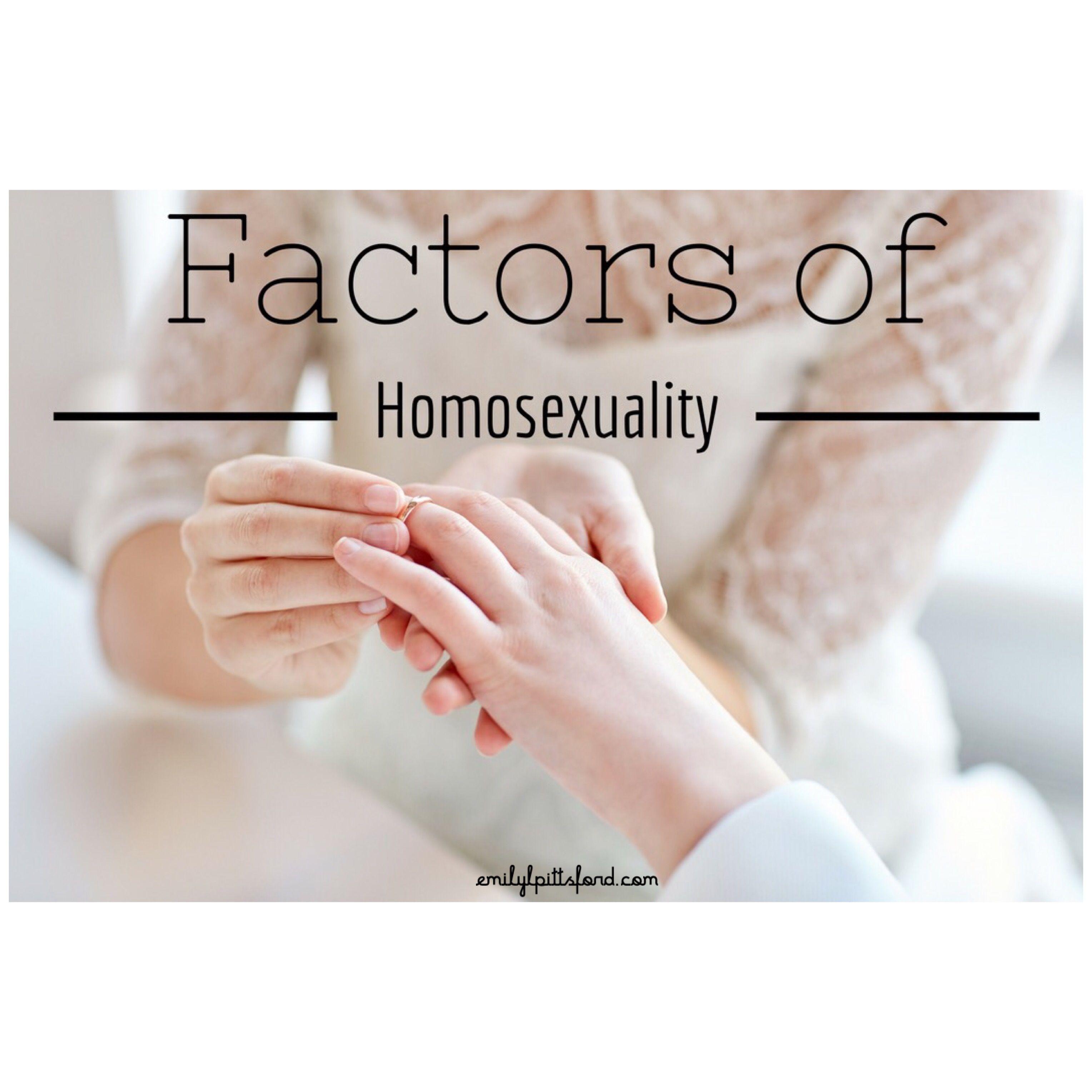 Nature versus nurture homosexuality in christianity