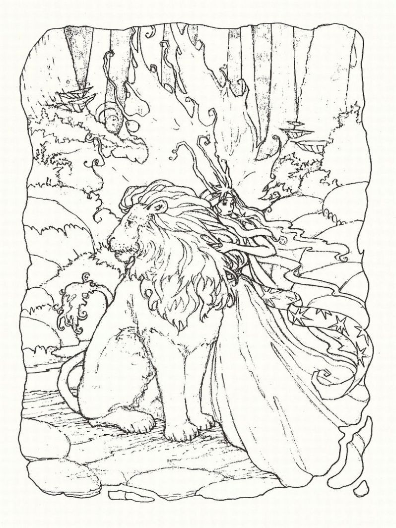Disney coloring pages adults - Fantasy Coloring Pages 1 Lrg Coloring Page For Kids And Adults From Peoples Coloring Pages Fantasy Coloring Pages