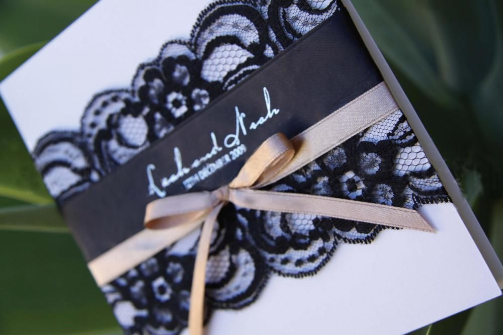 17 Best images about invitations – Black Lace Wedding Invitations