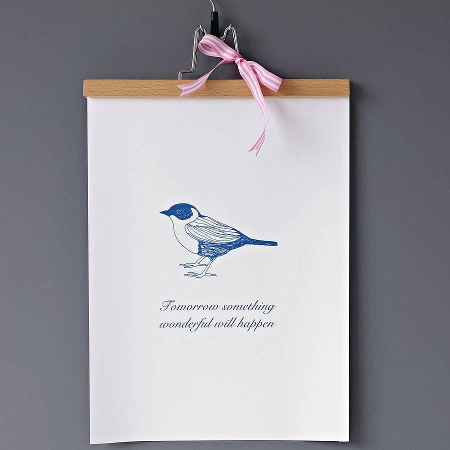 'Something Wonderful Will Happen' Print by KARIN ÅKESSON