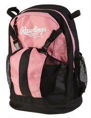 Rawlings Youth Bat Pack Bag Pink Black