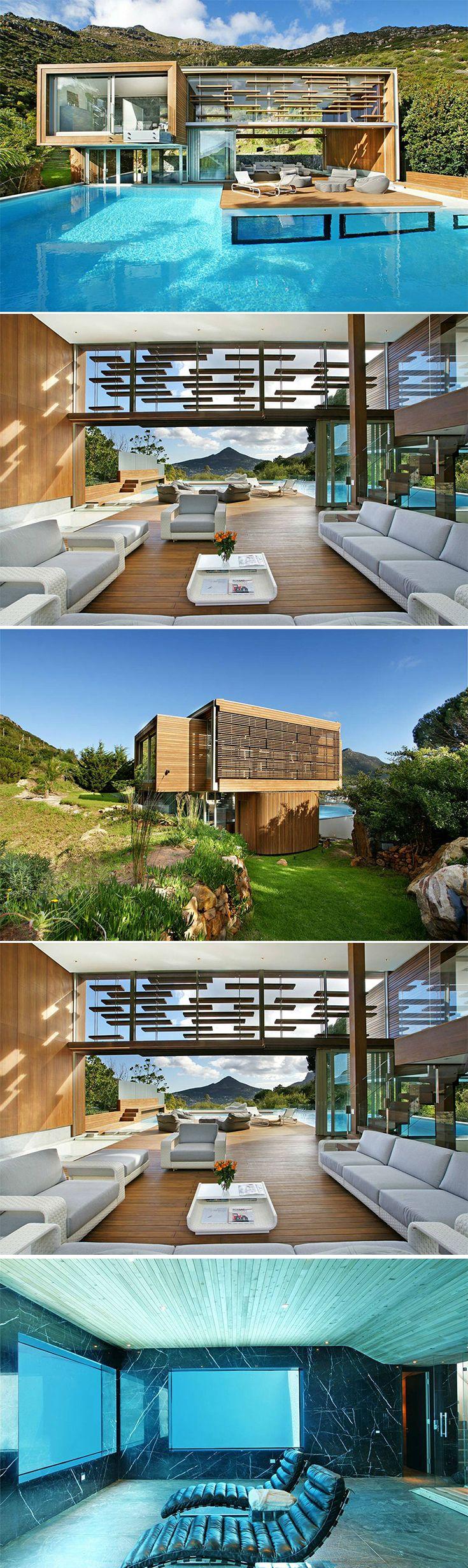 Spa House Metropolis Design Arch2o Com House Modern House Design Design