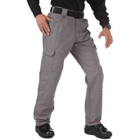 5.11 Tactical Men's Cotton Tactical Pant, Grey, Size: 44-34, ...