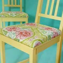Add Upholstered Cushions To Chairs