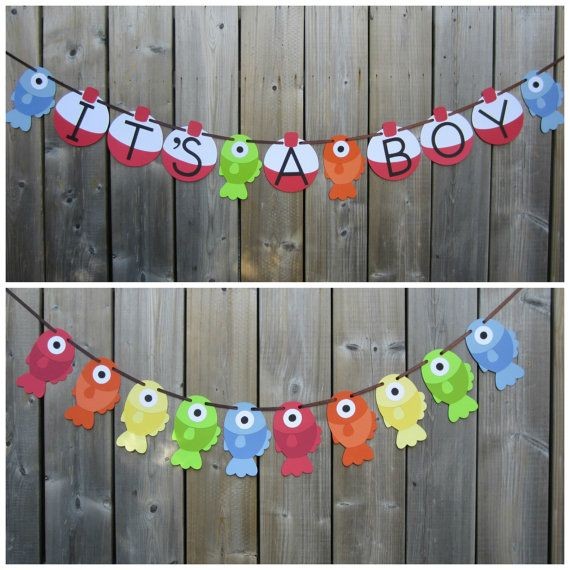 Find This Pin And More On Baby Shower Ideas By Dorianemarcoux. Fish For Reel