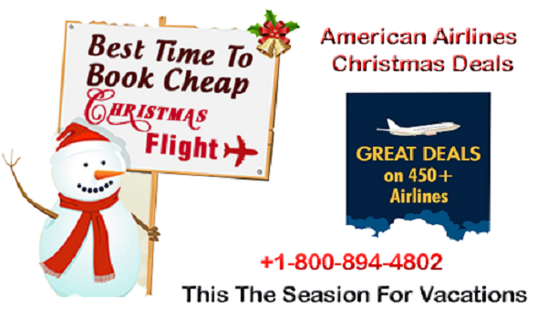 American Airlines Christmas Flights Deals American Airlines Christmas Travel Christmas Deals