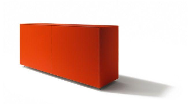 Cubus Pure Anrichte Von Team 7 In Farbglas Rot Mobel Pinterest