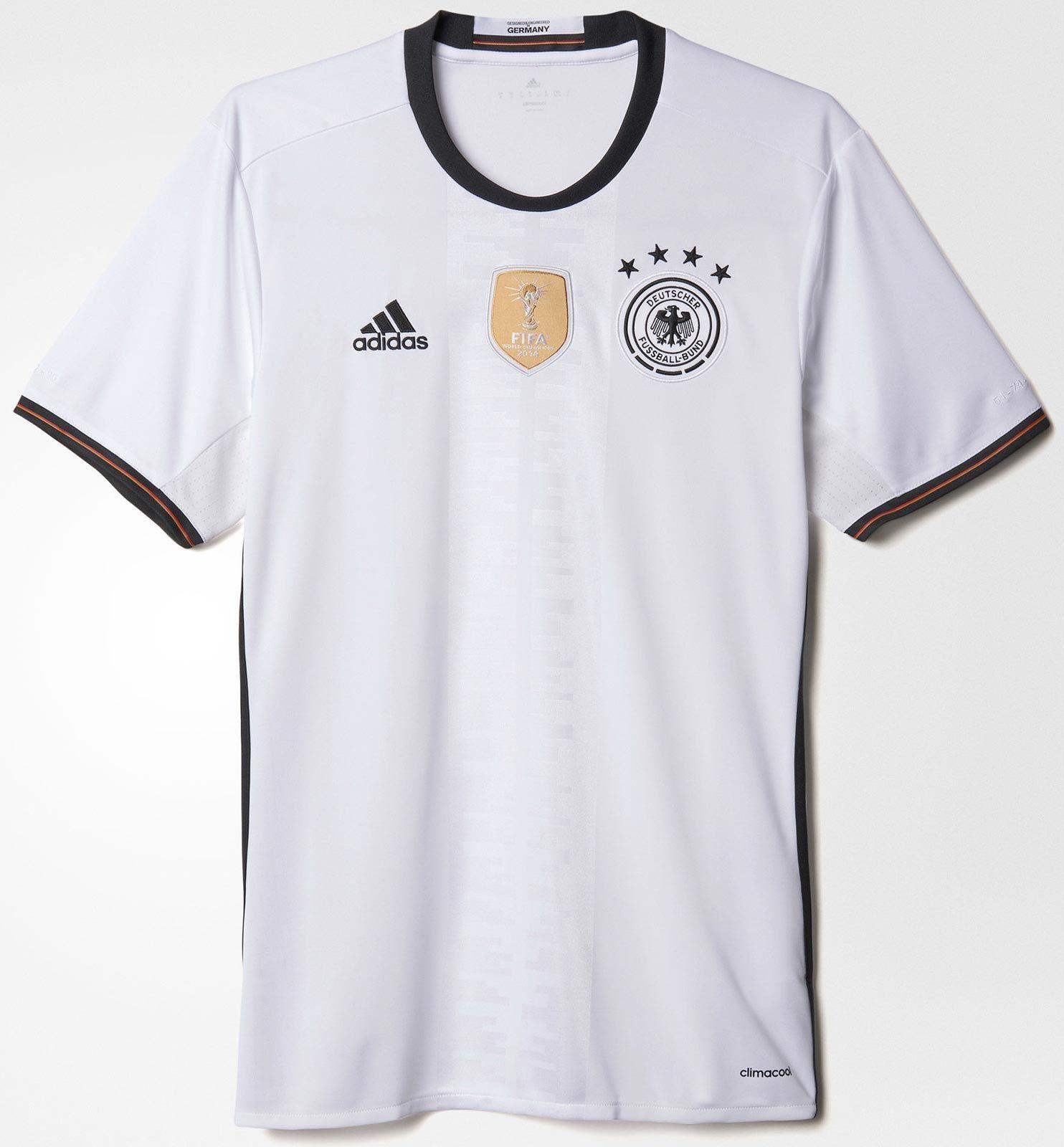 Adidas divulga nova camisa titular da Alemanha - Show de Camisas ... cf8cb6f2efc6d