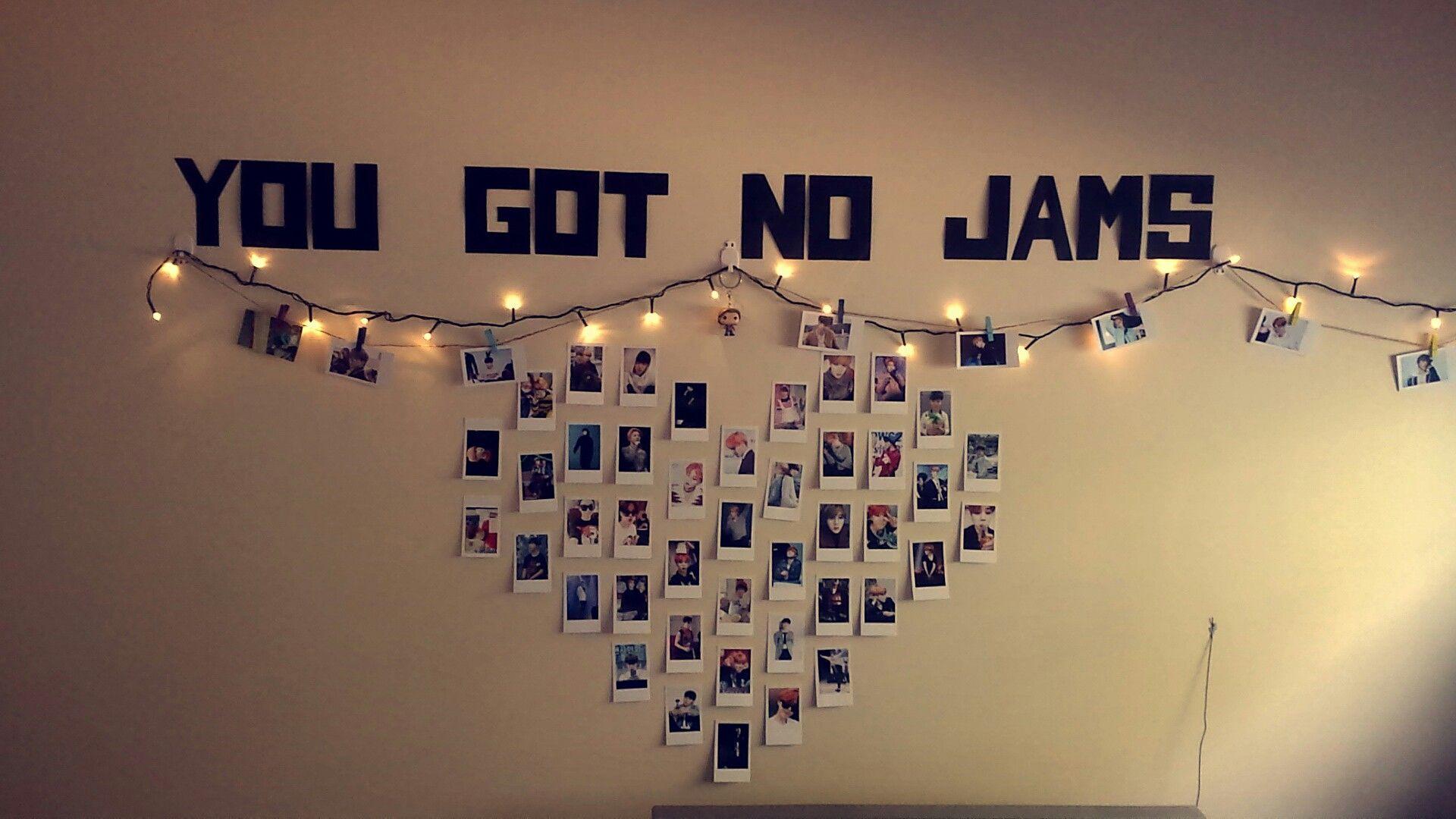 Kpop Room Decor Diy Bts Jimin Polaroids Stopjimin2k16 Yougotnojams