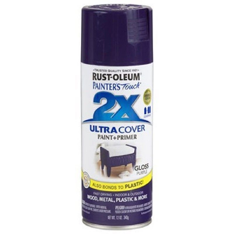 Details About Rustoleum Spray Paint American Accents 2x Primer Ultra Cover White Wood 12 Oz