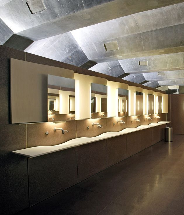 Omvivo washplane at the sydney opera house bathrooms for Bathroom designs sydney
