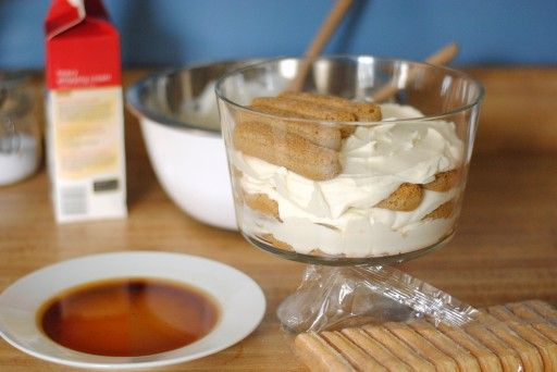 Quick Tiramisu Trifle 1 - Our Share of the Harvest