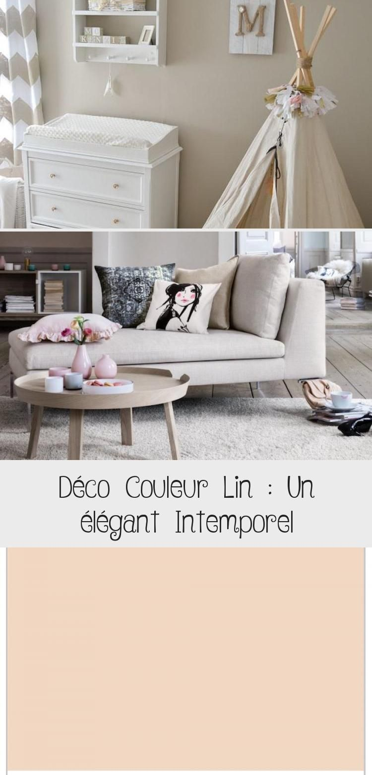 Deco Couleur Lin Un Elegant Intemporel Room Home Deco Baby Room