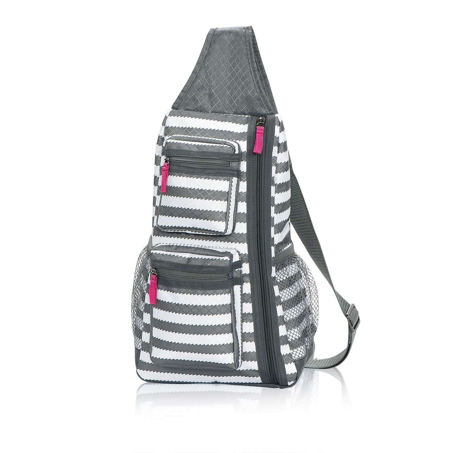 Sling-Back Bag in Grey Wave for $45 - So easy to grab and go, this ...