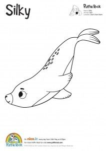 Free Puffin Rock Colouring Sheets Coloring Sheets Puffin Rock