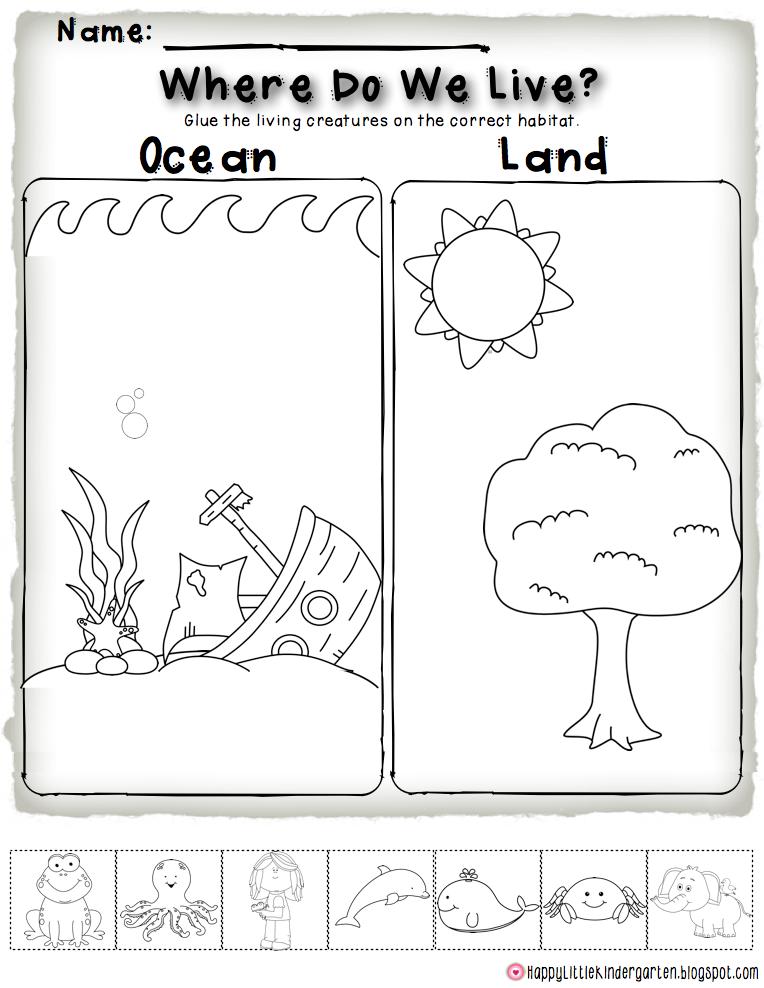 Ms. Lovenberg's Happy Little Kindergarten: Ocean Commotion