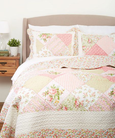 United Curtain Emily Quilt Set Zulily Bedroom Quilt