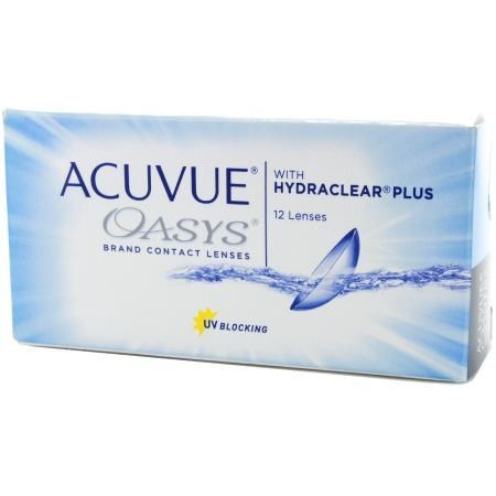 Acuvue Oasys With Hydraclear Plus Contacts 6 Pack Lenses Lens