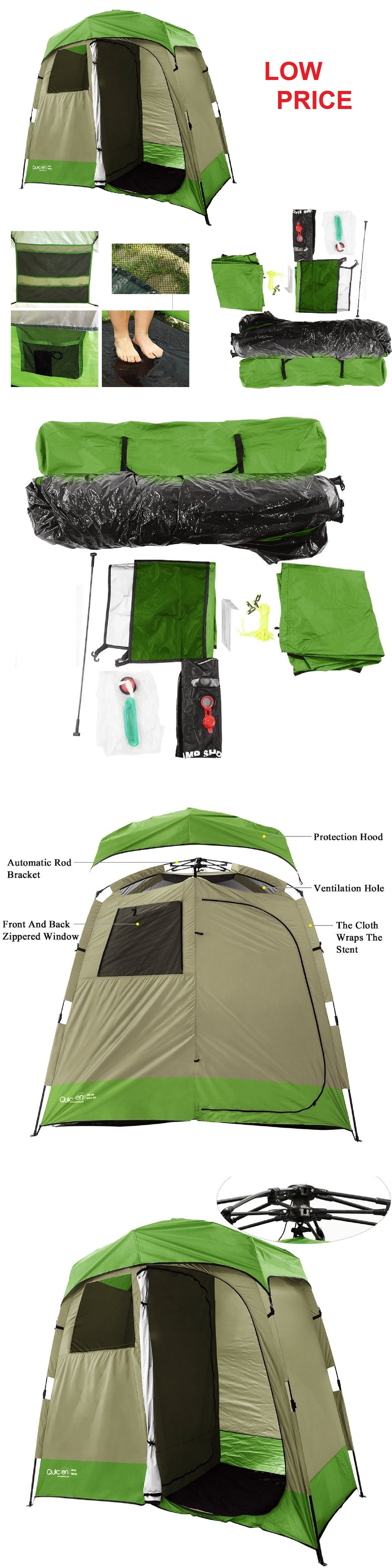 Portable Showers and Accessories 181396: 2 Room Camping Shower Tent ...