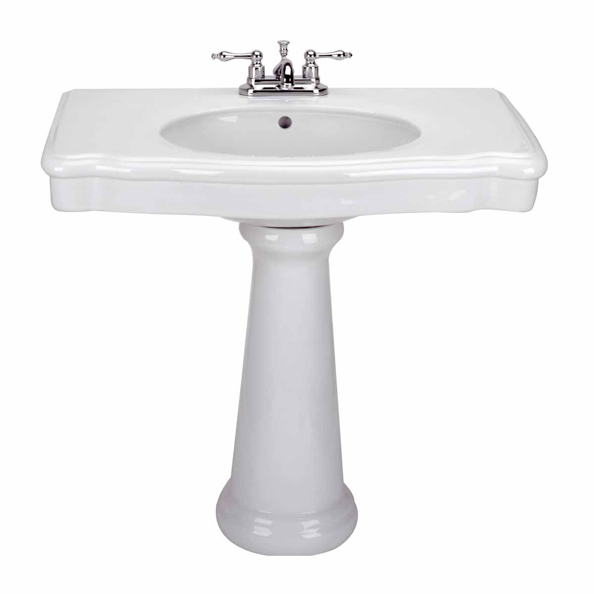 Old Fashioned Pedestal Sink: Old Pedestal Sink Bathroom Console White China Darbyshire