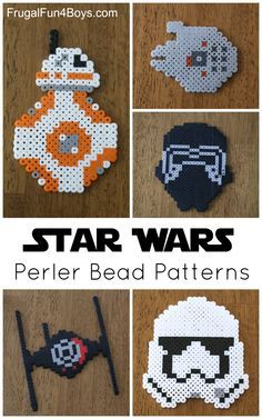 Perler Bead Star Wars Bb 8 Tutorial Youtube