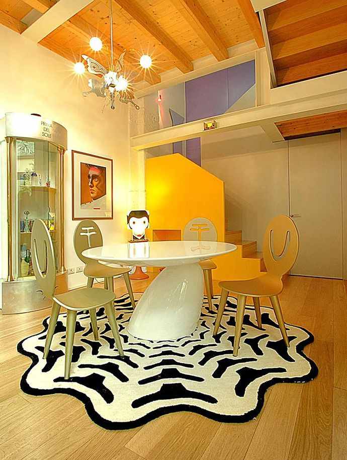 Awesome colorful interiors design home interior pinterest loft and also rh
