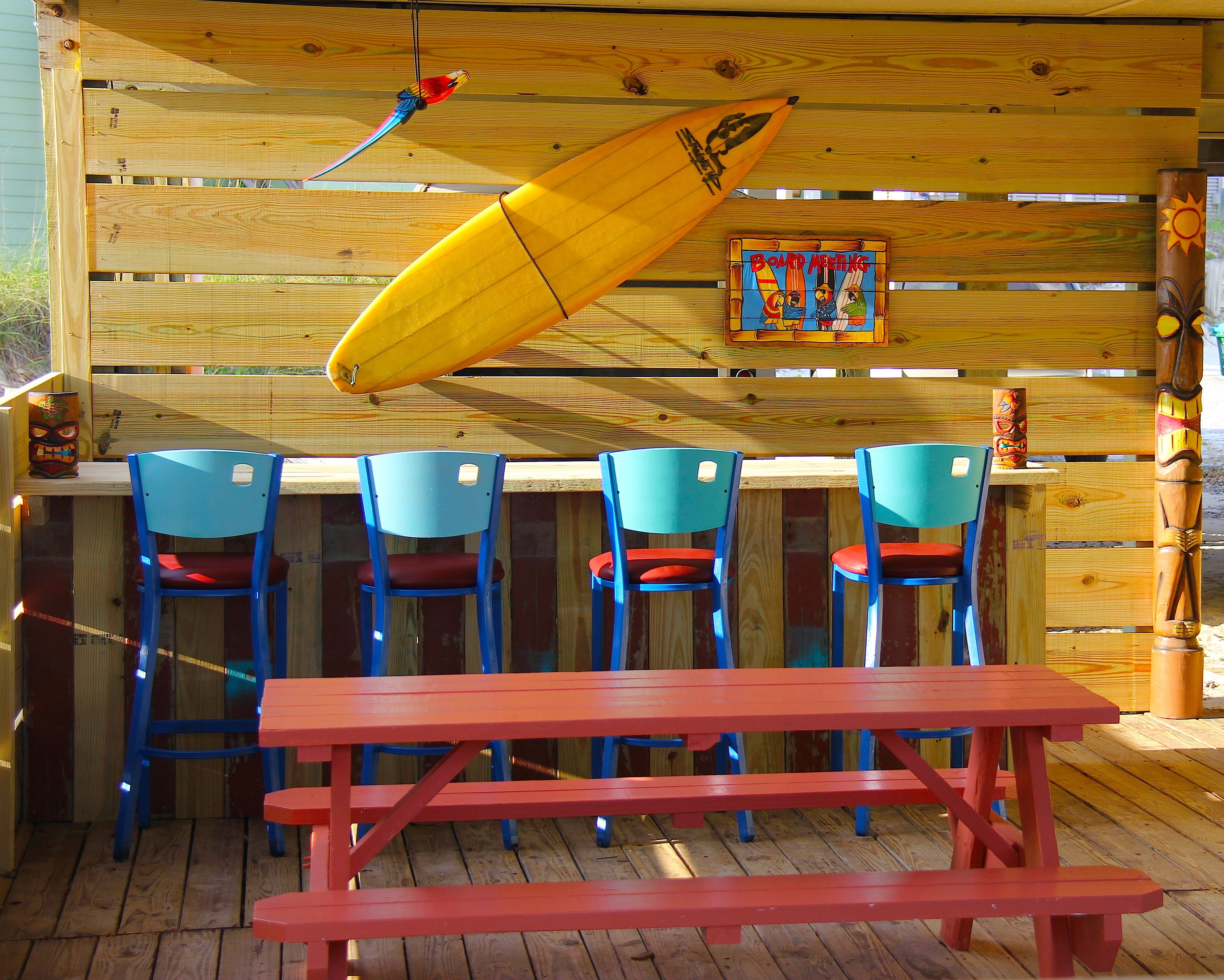 Tiki Bar At Cape San Blas. Coconut Cottage. Private Tiki Hut! #CapeSanBlas
