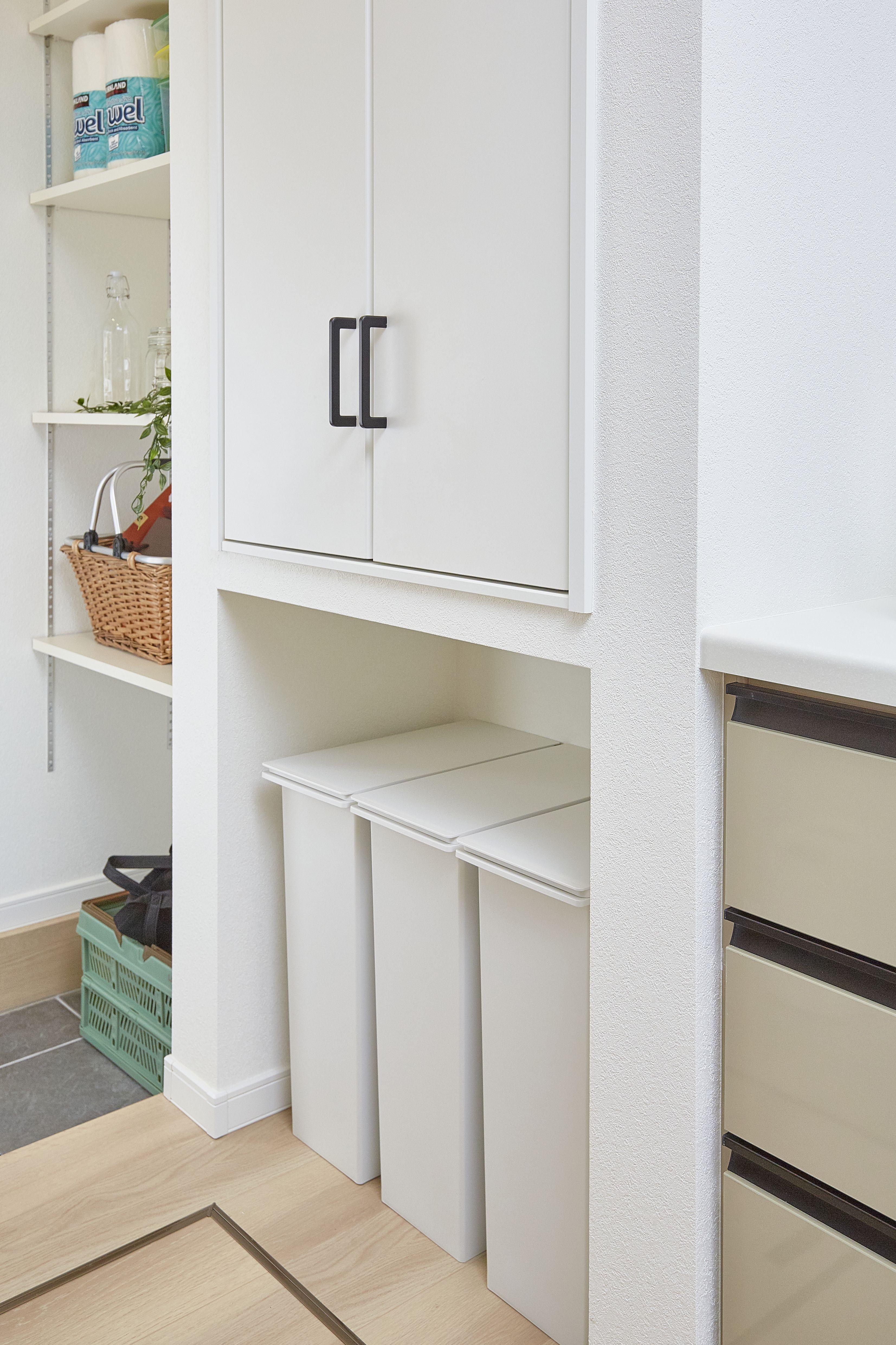 パントリー より使いやすい工夫 キッチンパントリーのデザイン 家 インテリア 収納