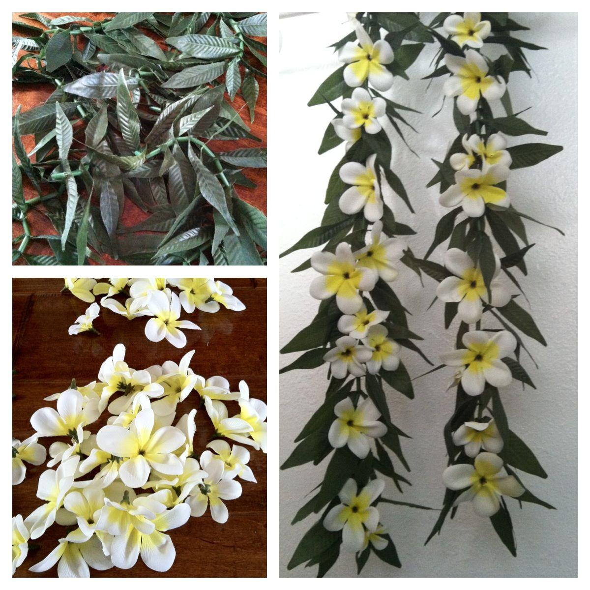 Graduation lei ti leaf inspired shawl made with silk plumeria graduation lei ti leaf inspired shawl made with silk plumeria flowers flowers purchased mightylinksfo