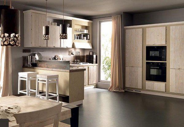 cucine in muratura moderne - Cerca con Google | CUCINE IN MURATURA ...